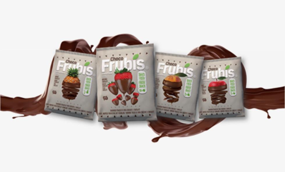 Fev 2018 – Frubis tem mais fruta, com chocolate!