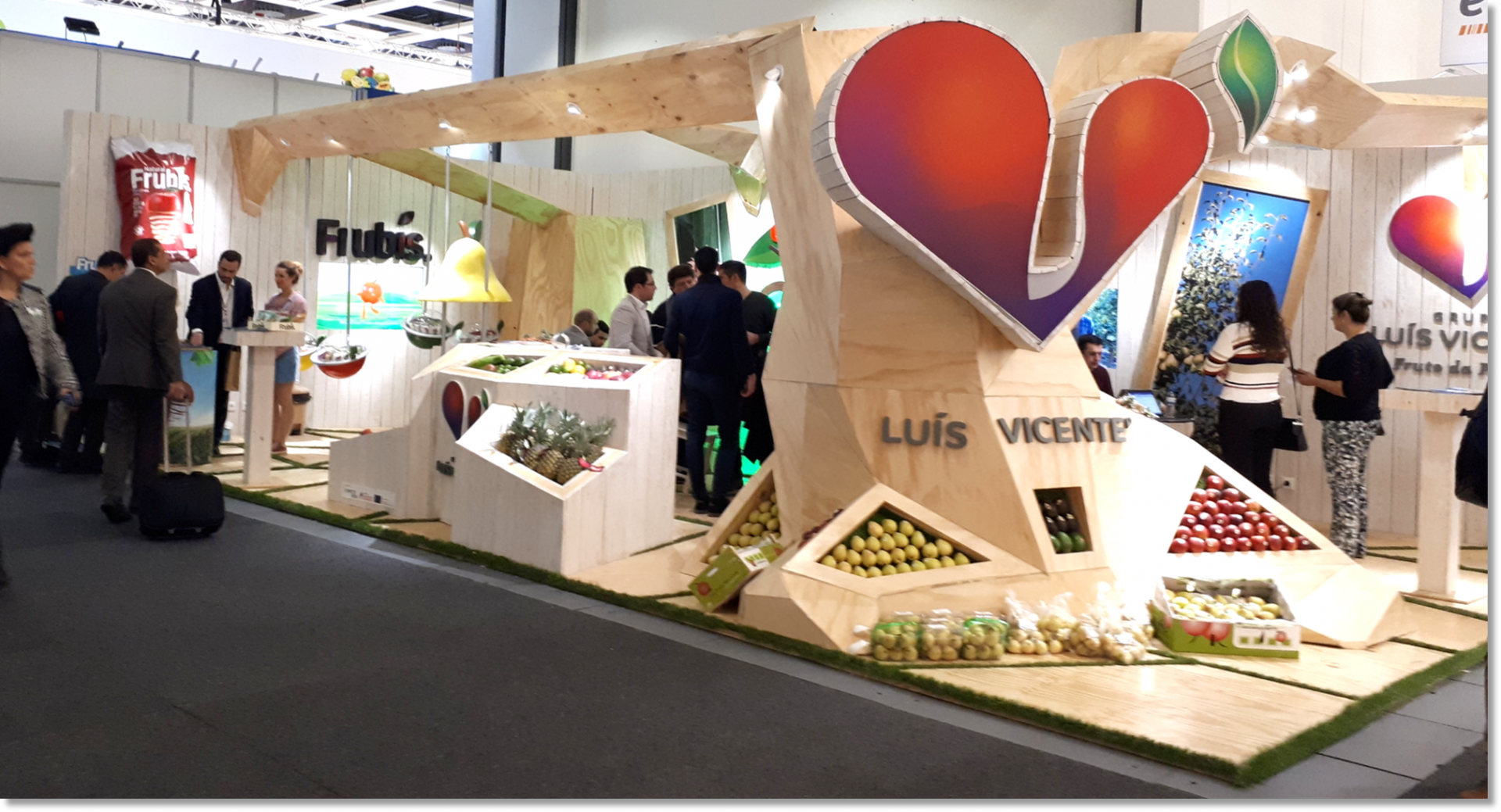 Feb 2018 – Luis Vicente Group in Fruit Logistica