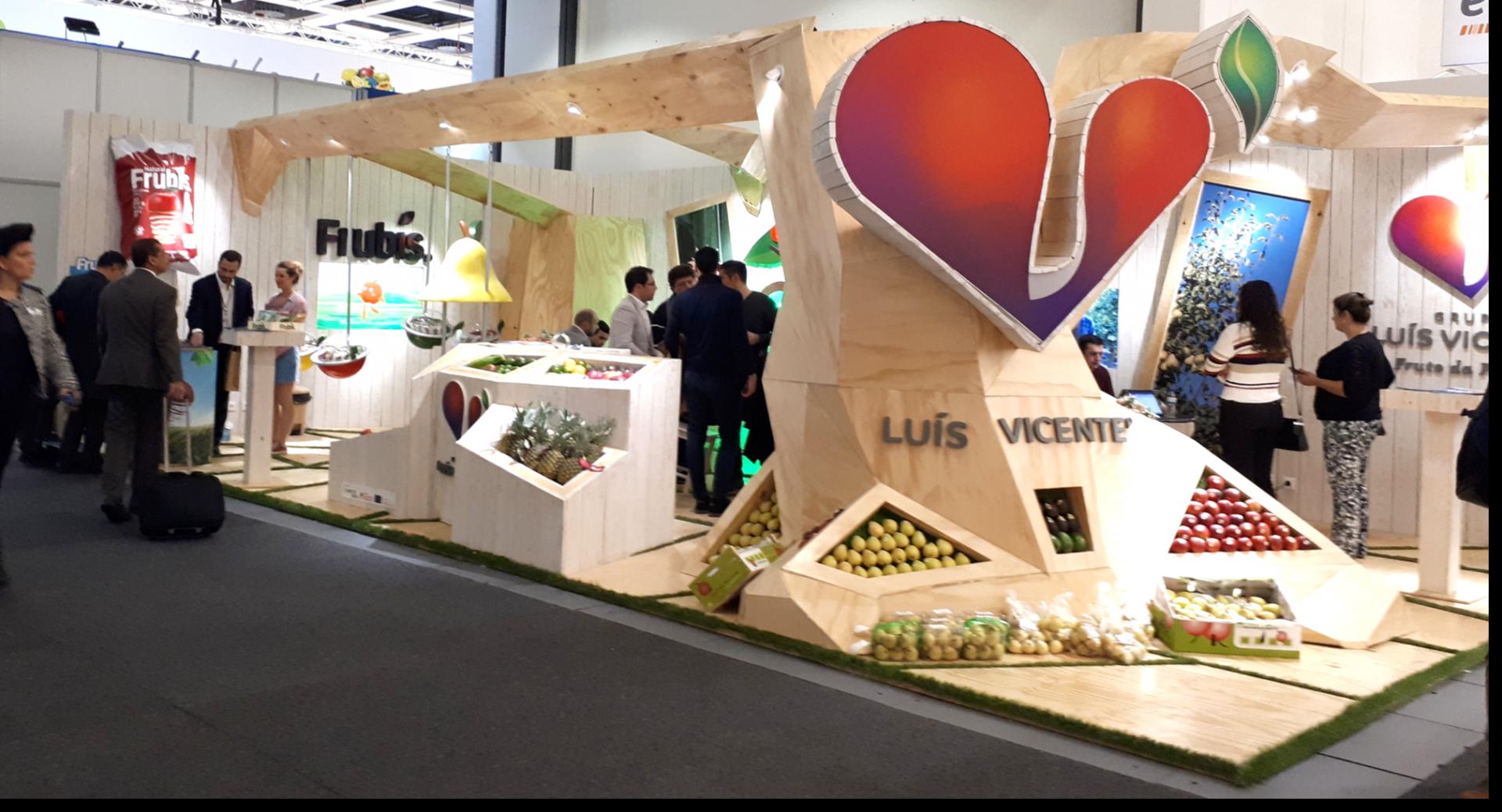 Février 2018 – Le Groupe Luís Vicente à Fruit Logistica
