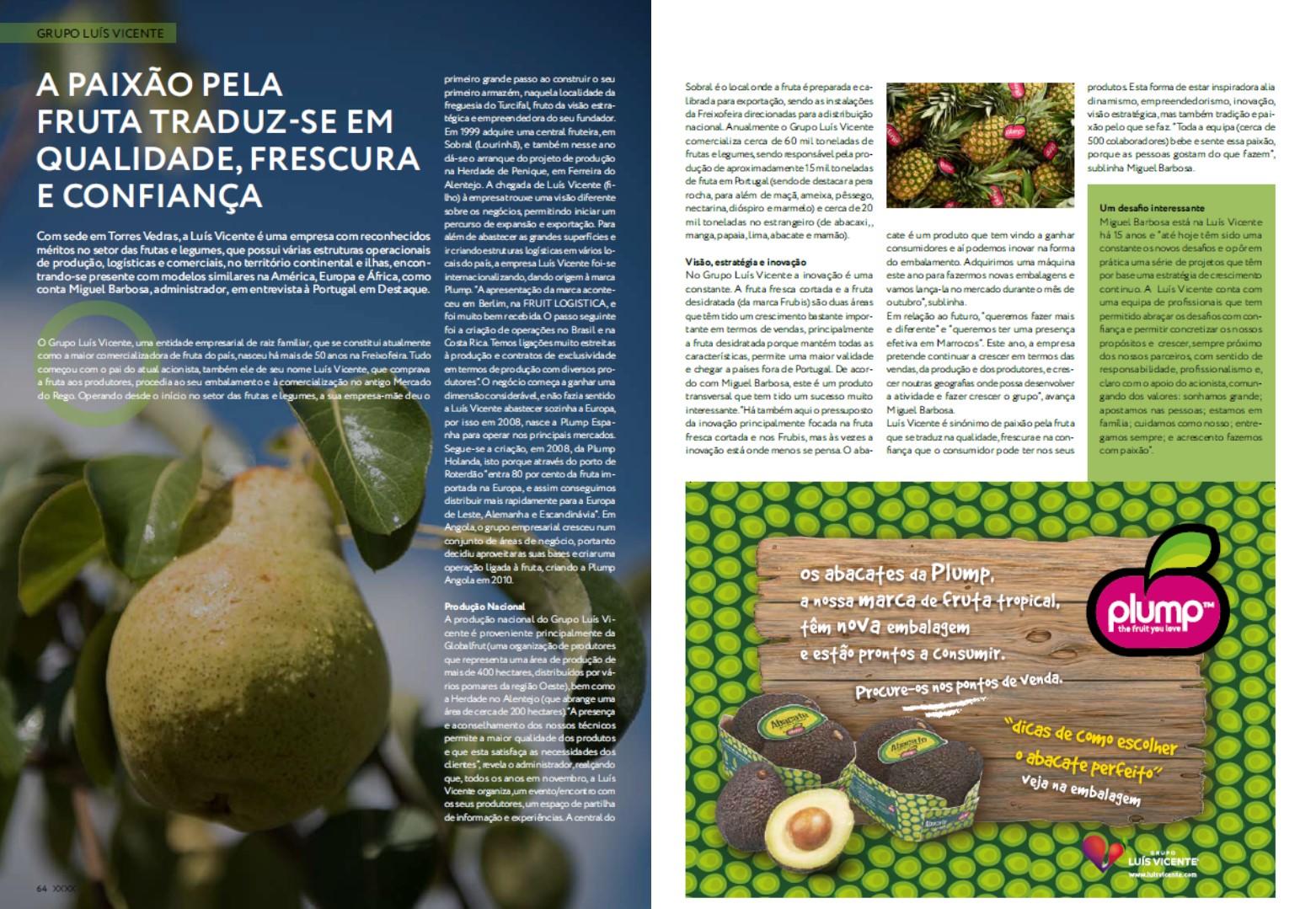 Octobre 2018 – Magazine Portugal em Destaque, Encart Journal Expresso
